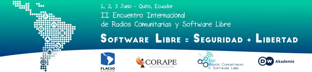 II Encuentro de Radios Comunitarias y Software Libre